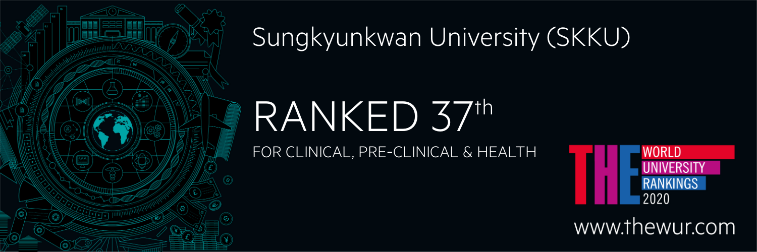 SKKU ranked 37, THE For clinical,preclinical&Health